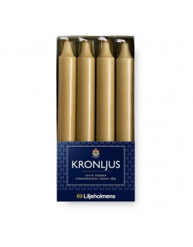 Liljeholmens Gold kron 8pk, straight, Multi-fit base