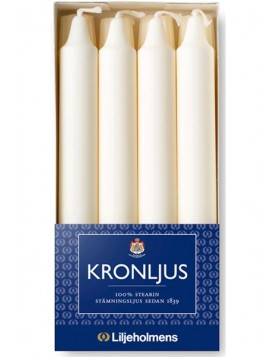 Liljeholmens Creme kron 8pk, straight, Multi-fit base