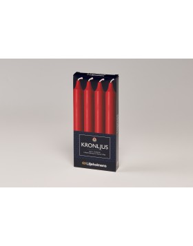 Liljeholmens Red kron 4pk, straight, Multi-fit base
