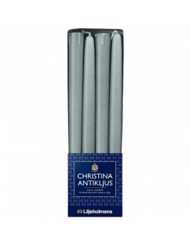 Liljeholmens Grey Blue Christina 8pk, Tapered, Lugged base